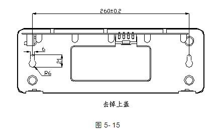 GST-LD-8317气体喷洒指示灯安装图